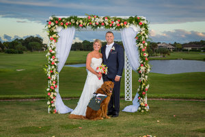 Wounded Veteran Has Service Dog Act As the Best Man at His Wedding