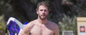 These Snaps of a Shirtless and Wet Liam Hemsworth Will Leave You Breathless