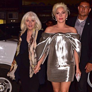 Lady Gaga in NYC With Mom October 2015