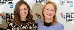 New Mum Carey Mulligan Hits the Red Carpet With Meryl Streep