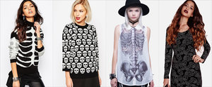 Get Under the Skin of Halloween With Skull and Skeleton Prints