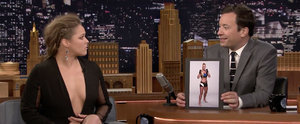 Ronda Rousey Talks About Opponent Holly Holm on The Tonight Show