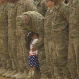 You Have to See This Little Girl Interrupt an Army Ceremony to Hug Her Daddy