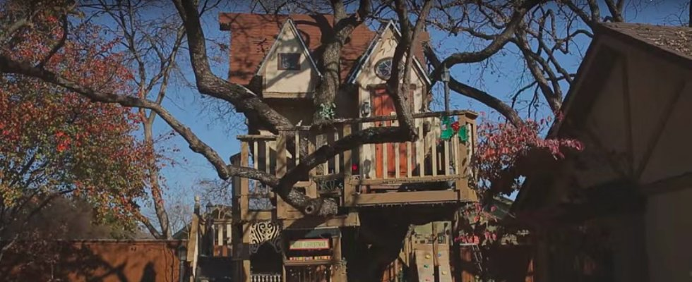 These Grandparents Built the Most Epic Tree House Ever