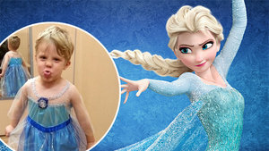 This Dad's Reaction to His Son Dressing as Elsa From 'Frozen' for Halloween Will Make Your Day
