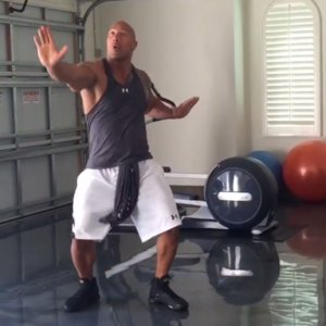 Dwayne Johnson Hitting The Quan Video