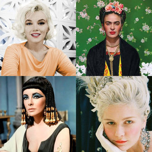 Halloween Costume Ideas That Are All About The Hair And Makeup