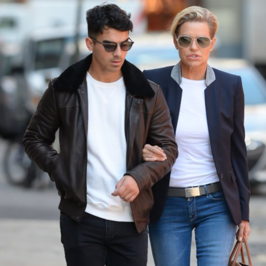 Joe Jonas and Yolanda Foster Out in NYC Pictures