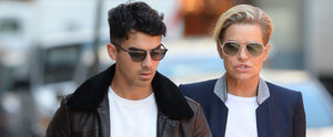 Joe Jonas Links Arms With Gigi Hadid's Mom During a Sweet Stroll