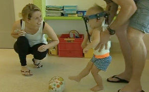 After Head Is Reattached To Spine, Toddler Learns To Walk Again