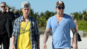 Justin Bieber's Dad Is 'Proud' of His Son's Package