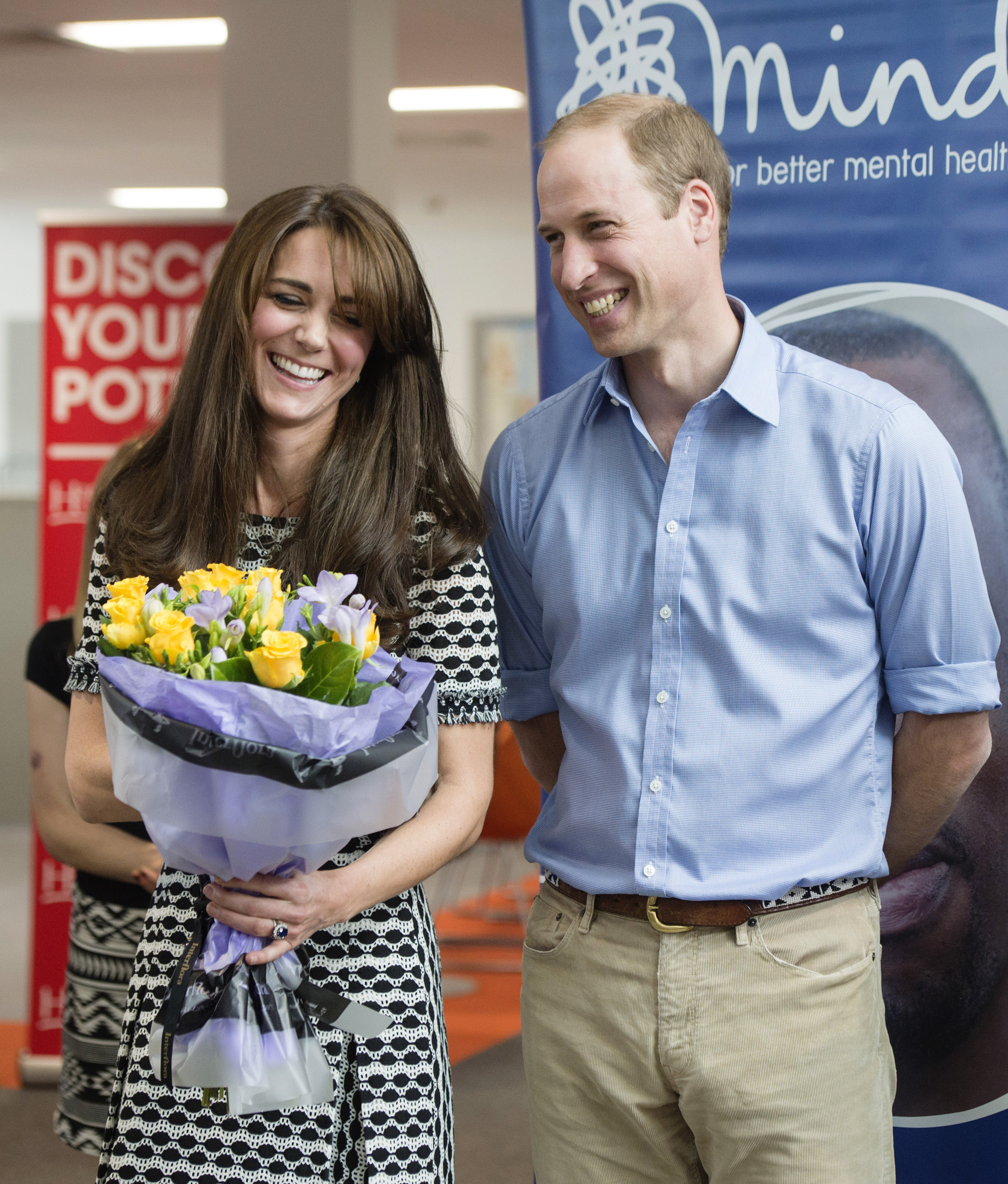 Prince William and Kate Middleton College Visit 2015