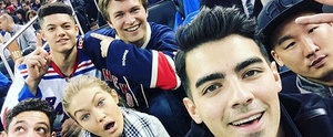 This Selfie of Joe Jonas, Gigi Hadid, and Ansel Elgort Is Almost Too Good to Be True