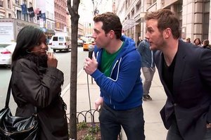 Billy Eichner And Chris Pratt Ran Around New York And Found Out No One Knows Who Chris Pratt Is