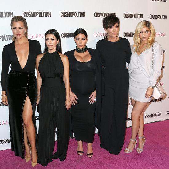 Kardashian Style Cosmopolitan's 50th Anniversary