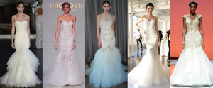 Bridal Fashion Week's Most Magical Mermaid and Trumpet Dresses