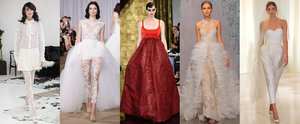 Bridal Fashion Week's Most Unusual and Unexpected Wedding Dresses