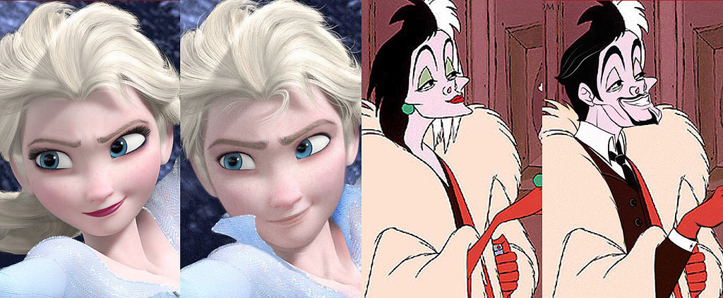What If Elsa Were a Man? See Disney Characters in a Whole New Light