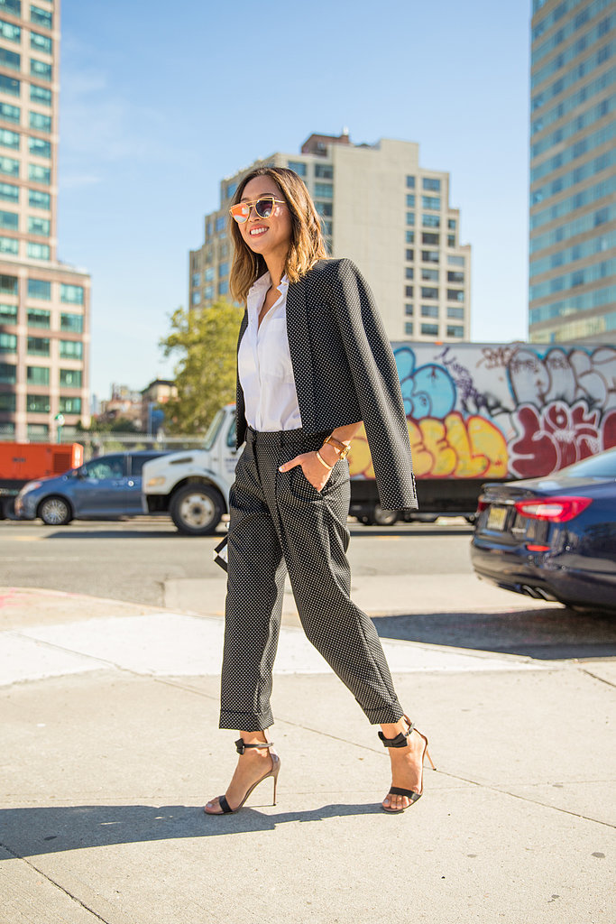 A Suit With Personality 12 Outfits Every 30 Something Should Have In Her Closet Popsugar Fashion