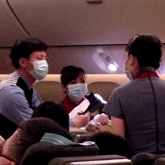 Baby Delivered on China Air Flight by UCLA Doctor