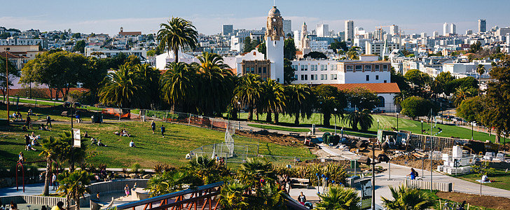 """Some Parks in San Francisco Have Been Declared """"No Tech"""" Zones"""