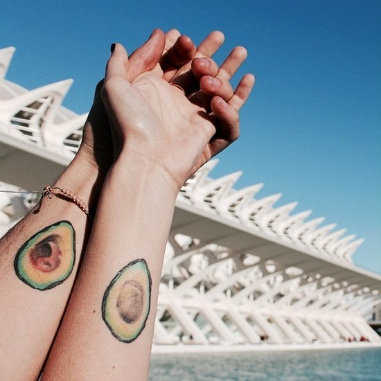 Avocado Tattoo Inspiration