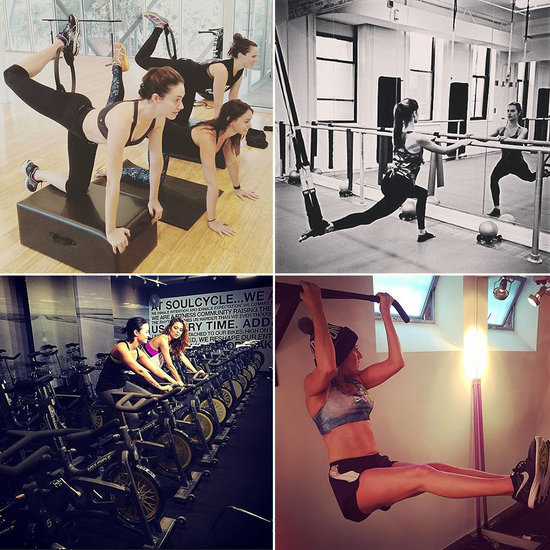 Feel Instantly Inspired to Exercise With These Celeb Instagram Pics