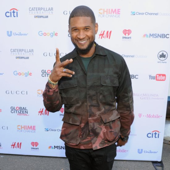 Usher Celebrates His Birthday at the White House