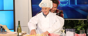 Ellen DeGeneres Cooking With Bradley Cooper's Hands Is Just as Amazing as It Sounds