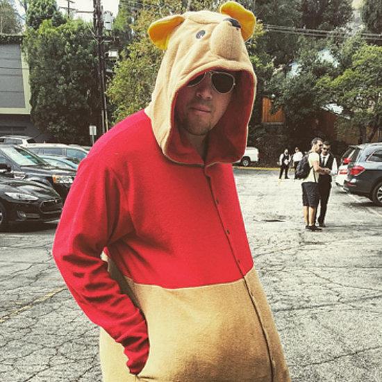 Channing Tatum Dressed as Winnie the Pooh 2015