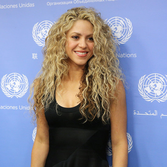 Shakira Posts Video of Son Naming South American Countries