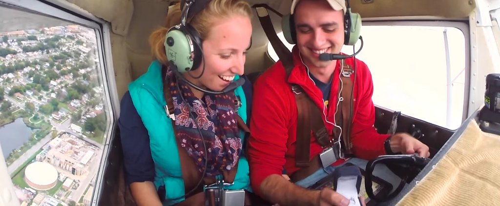 Most Epic Proposal Ever? Watch the Grand Gesture For Yourself . . .