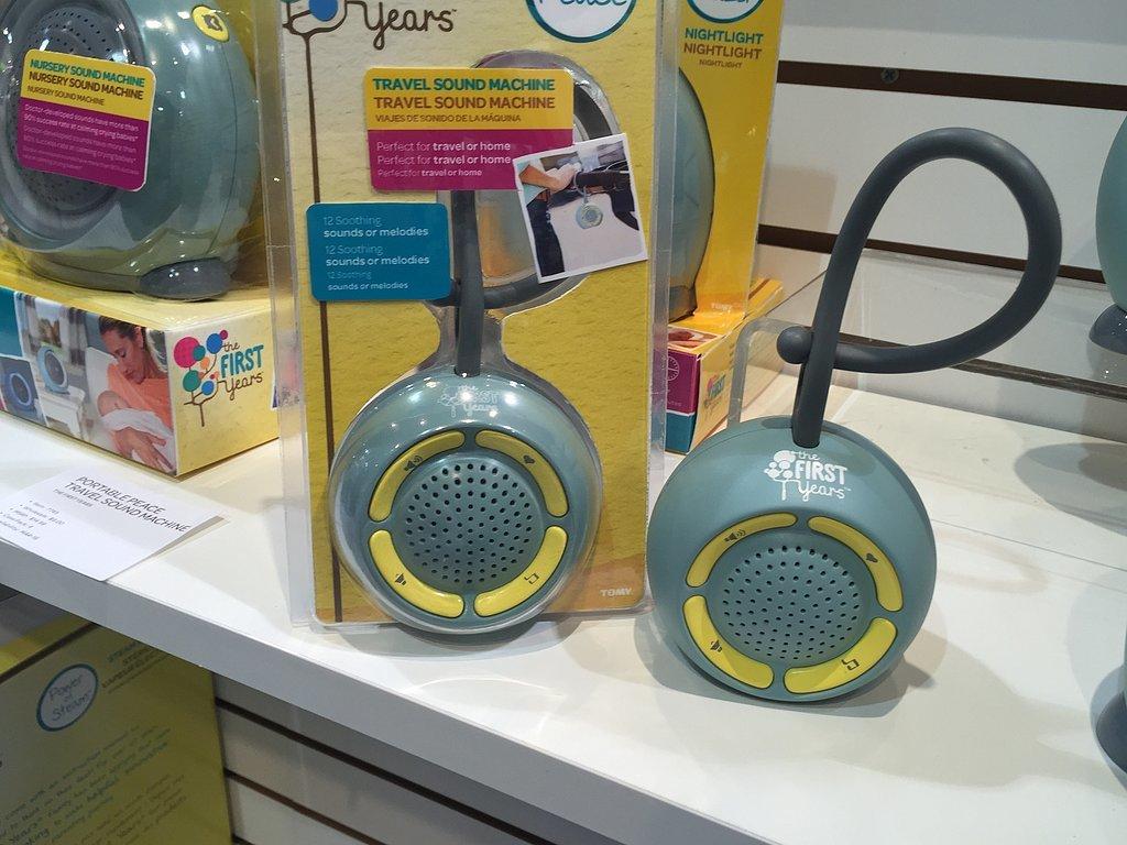 portable baby sound machine