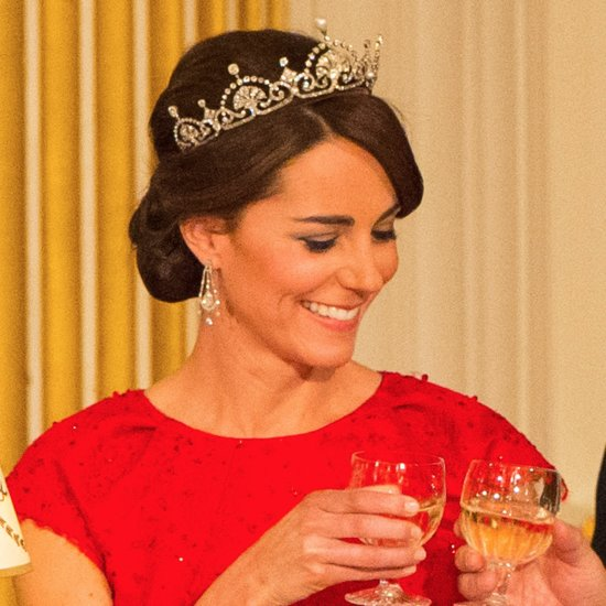 Kate Middleton's Up 'Do Hairstyle | Oct 2015