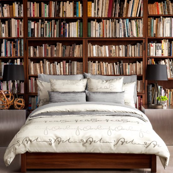 How to Style Books in Bedroom