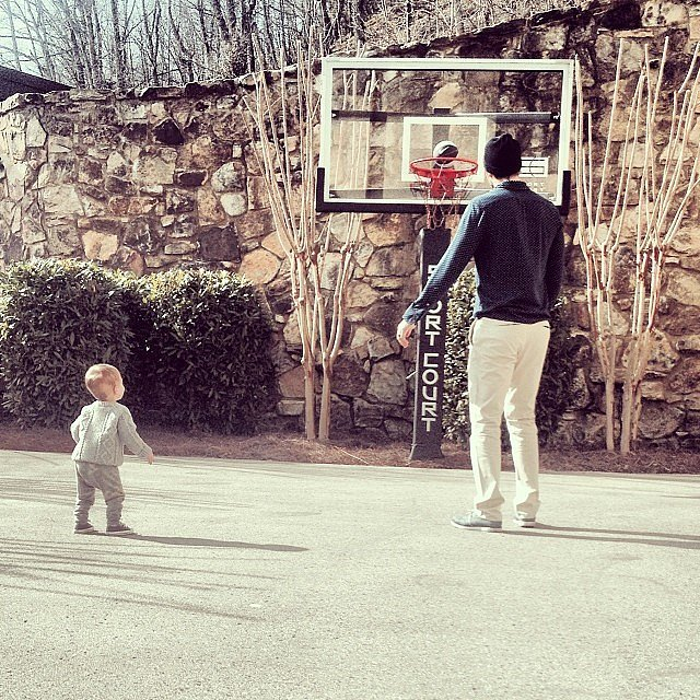 There's Always Time For a Backyard Game of Basketball