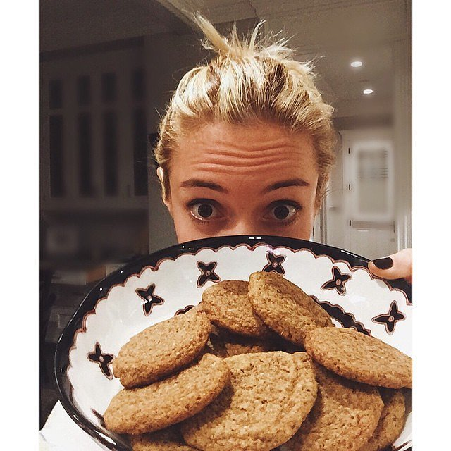 """""""Just perfected these almond butter cookies."""""""