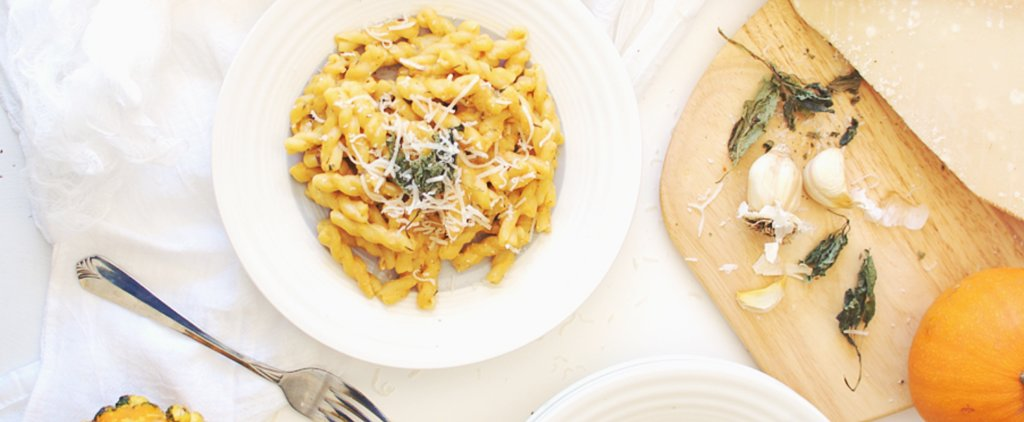 You've Never Had Alfredo Pasta Quite Like This Pumpkin-y Version