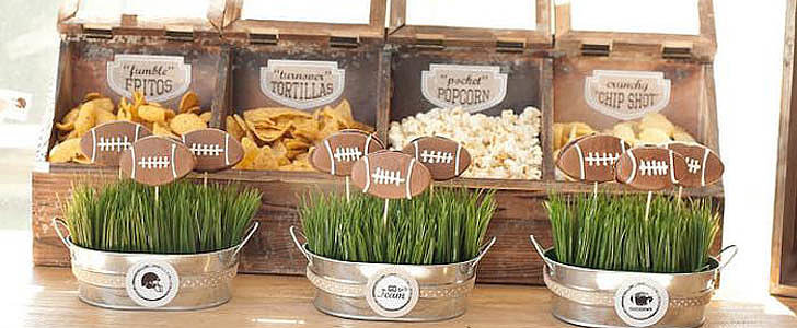 Tackle Your Next Football Extravaganza With This Vintage-Themed Party