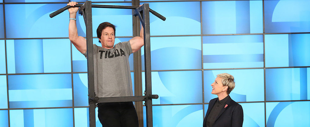 Mark Wahlberg Doing Pull-Ups Is Actually Mesmerizing