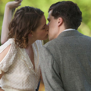 Kristen Stewart and Jesse Eisenberg on Woody Allen Movie Set
