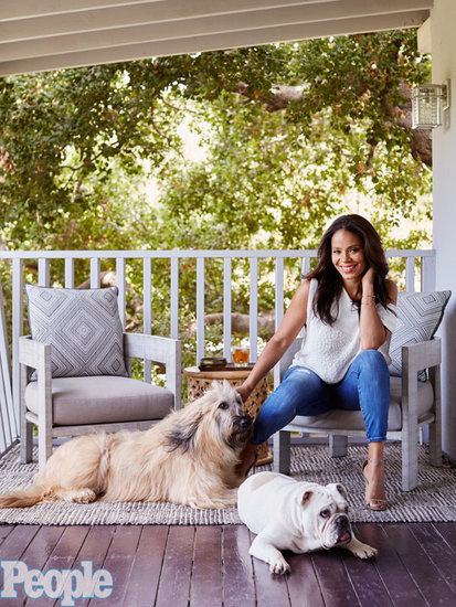 Look Inside Sanaa Lathan's L.A. Home: 'It's a Zen Treehouse'