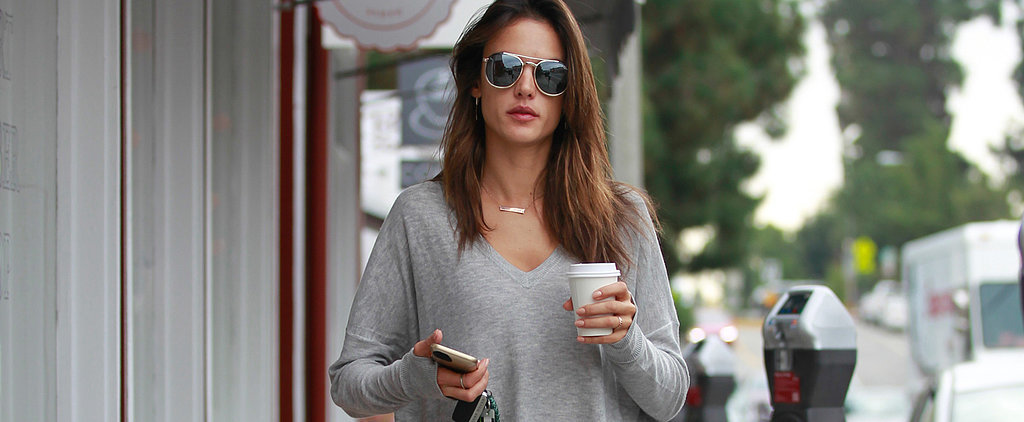 You'll Totally Want to Copy Alessandra Ambrosio's Cool and Comfy Look