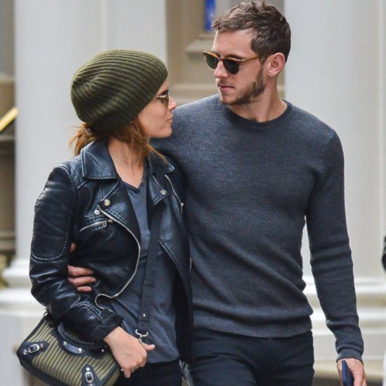 Jamie Bell and Kate Mara in NYC October 2015