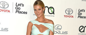 Gwyneth Paltrow Wears a Red-Hot Dress That's Right Off the Runway