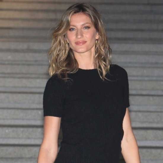 Gisele Bundchen and Her Son Cheer For the Patriots