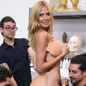 Heidi Klum 2015 Halloween Costume Pictures