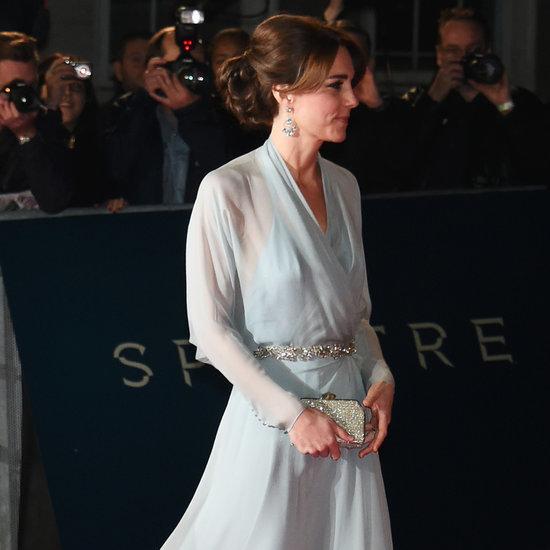 Kate Middleton in Jenny Packham at Spectre Premiere