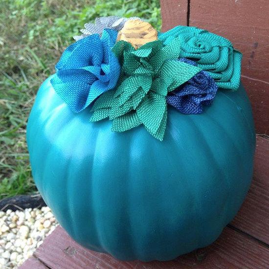 Creative Ways to Decorate a Teal Pumpkin