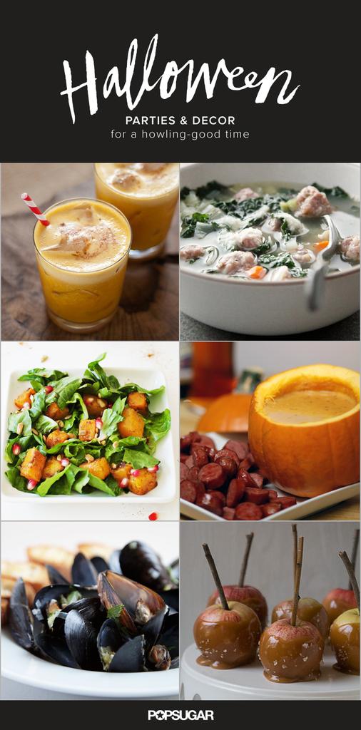 Adult halloween party menu popsugar food for Halloween dinner party food for adults